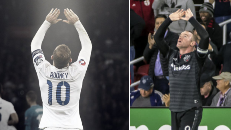 Wayne Rooney Reveals The Touching Story Behind His Goal Celebration
