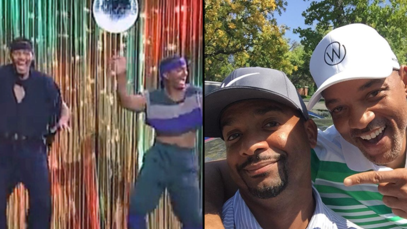 Will Smith And Alfonso Ribeiro Reunite On 28th Anniversary Of 'The Fresh Prince'