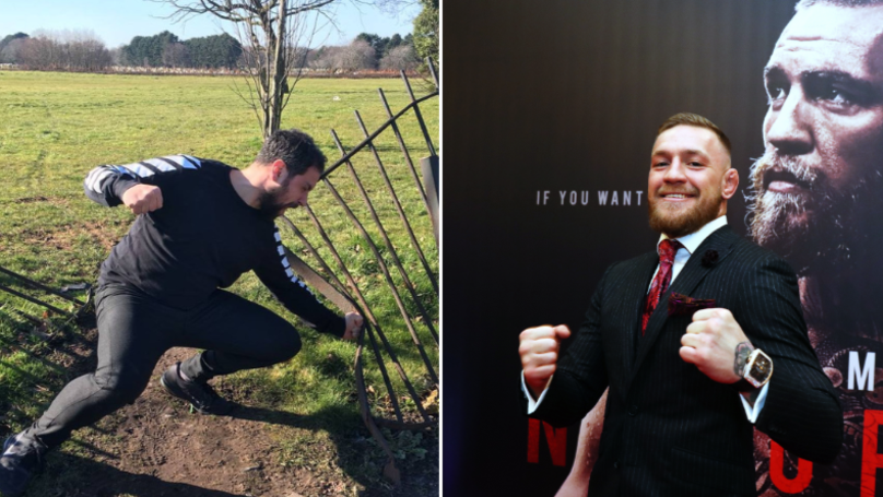 Guy Hilariously Calls Out Conor McGregor With Series Of Pictures