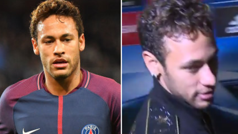 Watch: Neymar's Angry Reaction To Real Madrid Transfer Rumours