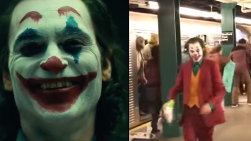 Joaquin Phoenix Appears In Full Joker Costume In Leaked Footage