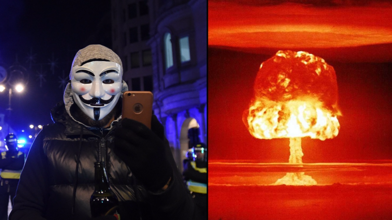 Anonymous Give Their Statement On Likelihood World War Three
