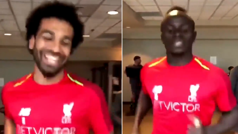 Jurgen Klopp Films Liverpool Players On The Treadmill, It's Absolutely Brilliant