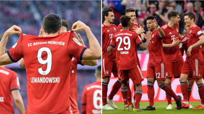 Bayern Munich Thrash Borussia Dortmund 5-0 In Der Klassiker