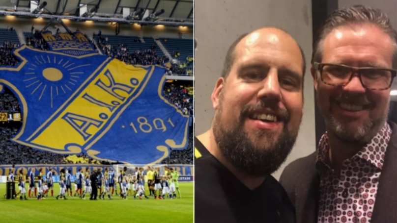 AIK Fan Spends £16,500 To Become World's First Lifetime Season Ticket Holder