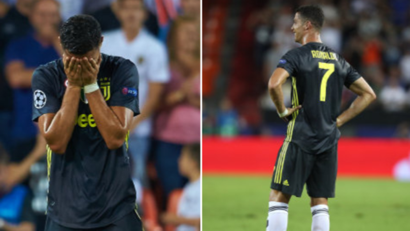 The Way Cristiano Ronaldo Has Reacted To His Red Card Shows What Kind Of Person He Is