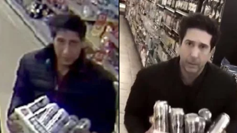 Thief Who Looks Like Ross From Friends Doesn't Look Anything Like Him