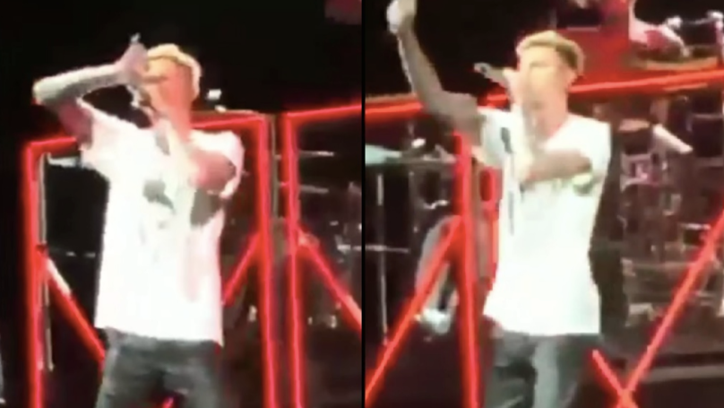 Machine Gun Kelly Gets Booed Off Stage During 'Rap Devil' Performance