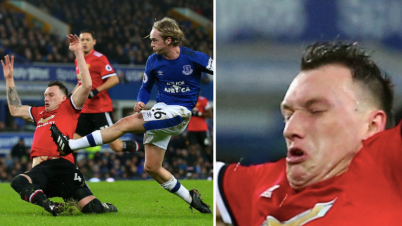 Phil Jones Gets Absolutely Slaughtered For His Hair During Everton Game