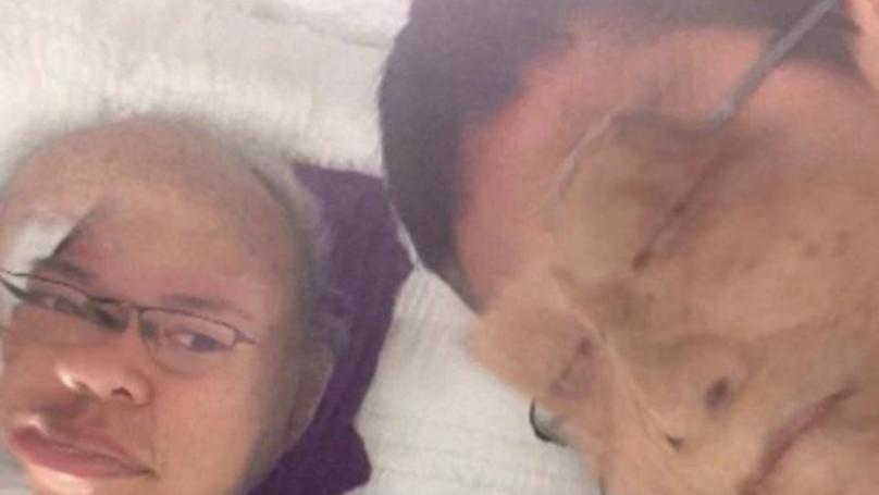 Man Face Swaps With Corpse At Funeral And Adds Dog Filter