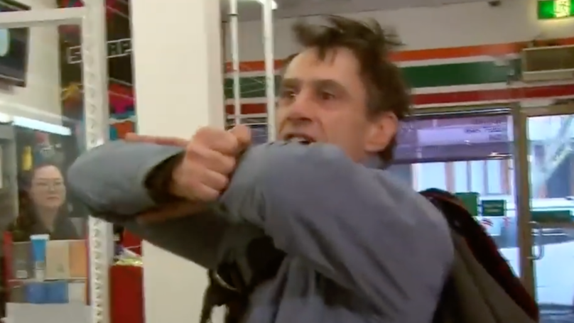 Man's Energetic Recreation How He Foiled Store Armed Robbery Is Amazing