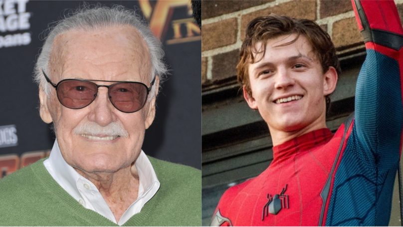 ​Stan Lee Reckons Tom Holland Is A 'Great Spider-Man'