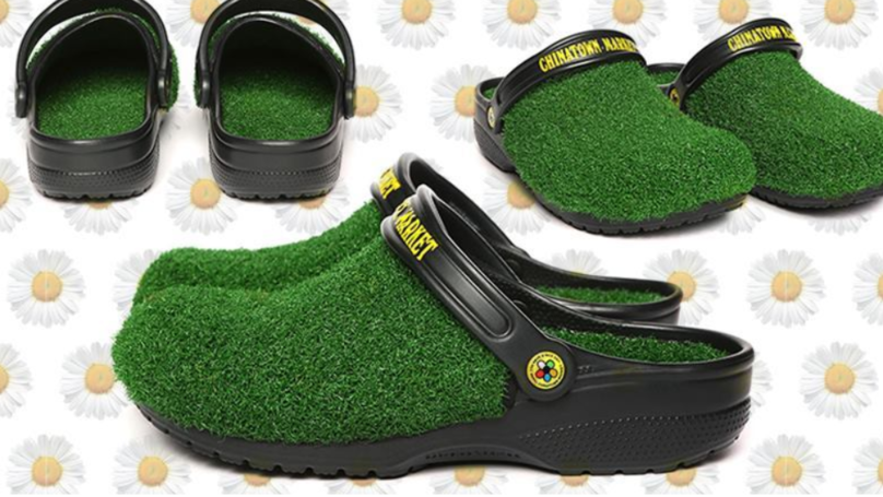 You Can Now Get Crocs Covered In Astro Turf