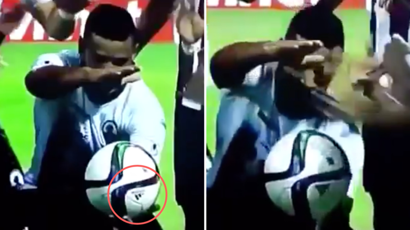 Player's Ball-Levitating 'Magic Trick' Celebration Is Blowing Everyone's Mind