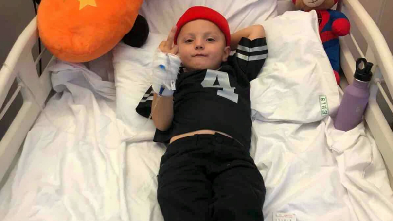 Fundraiser Launched For Little Boy Who Stuck Middle Finger Up To Cancer
