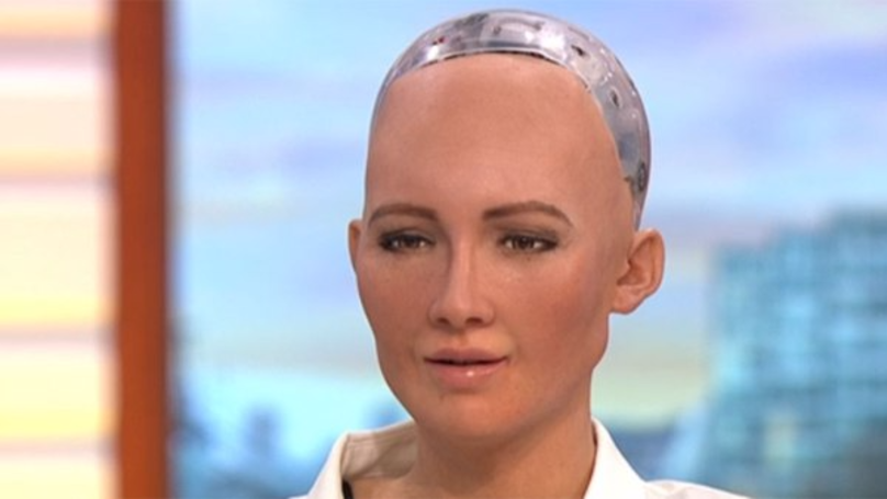 This Robot Seriously Freaked Out Piers Morgan