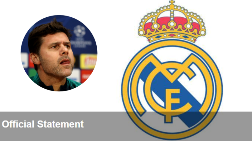 Real Madrid Issue Statement On Tottenham Manager Mauricio Pochettino's Claim