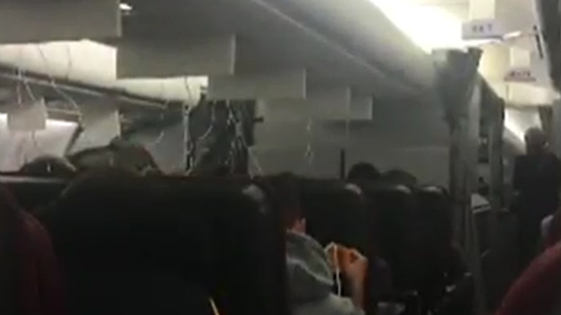 Passengers Thought They Were Going To Die As Plane Had Mid-Air Issue