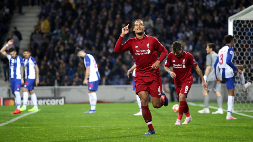 Virgil Van Dijk Reportedly Beats Raheem Sterling To PFA Player Of The Year Award