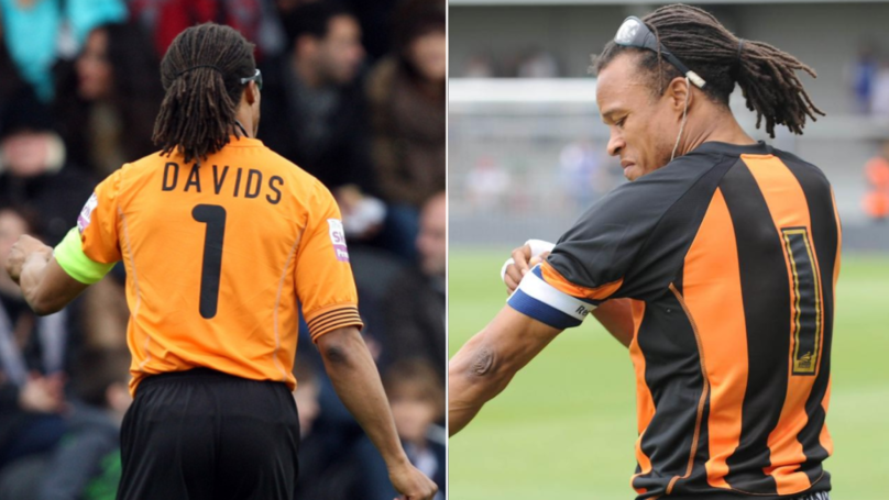 Edgar Davids - The Story Behind The Infamous Number One Shirt At Barnet