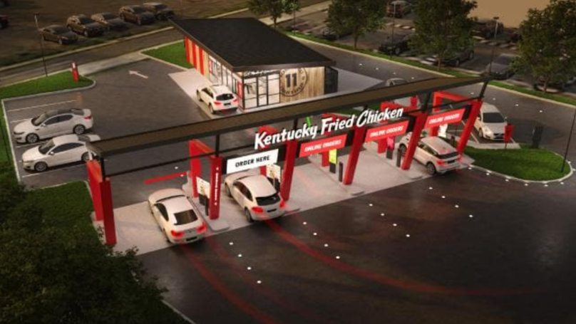 KFC To Open World's First High-Tech Drive-Thru Service In Australia