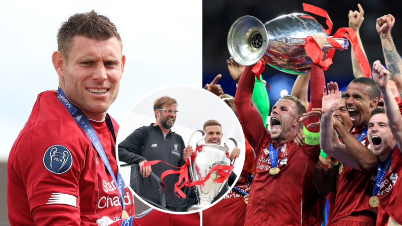 Jordan Henderson Reveals James Milner Shut Down The Idea To Lift Champions League Trophy Together