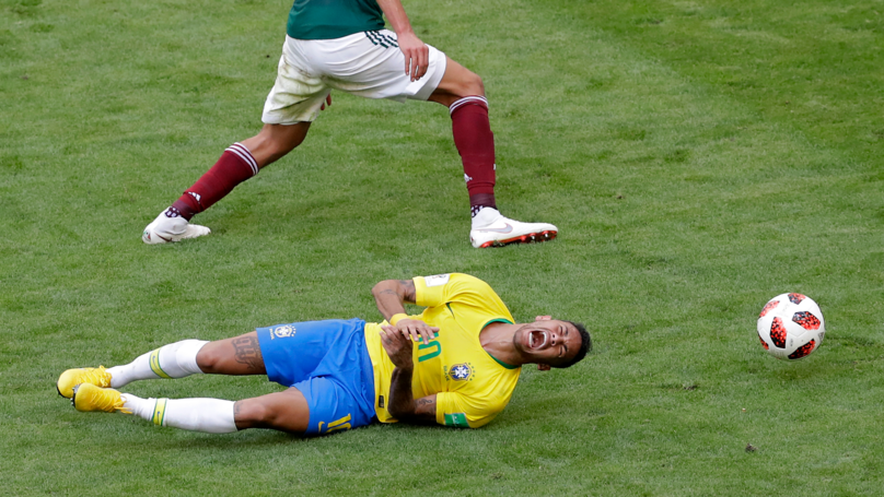 Neymar Is Being Ridiculed For His Theatrics Against Mexico Yesterday