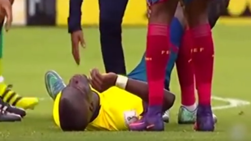 Enner Valencia Once Pretended To Be Injured To Get Away From Police