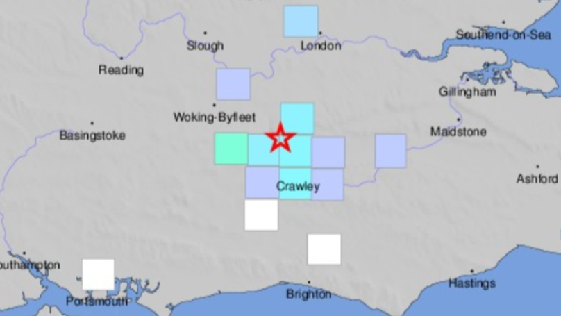 UK Struck By 3.3 Magnitude Earthquake Overnight