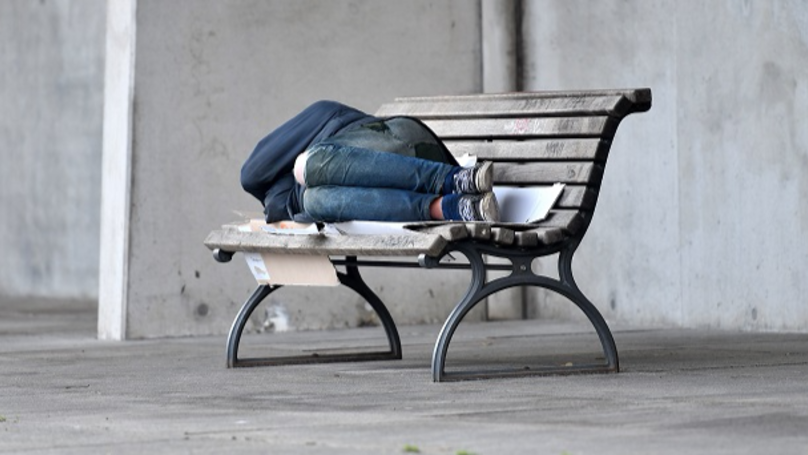 Council Installs Metal Bars On Benches To Deter Rough Sleepers