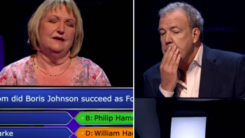 This Woman Ignored Her Husband Then Lost £31,000 On Who Wants To Be A Millionaire