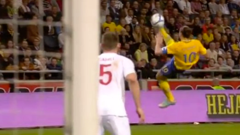 Remembering Zlatan Ibrahimovic's Incredible 30-Yard Overhead Kick Against England