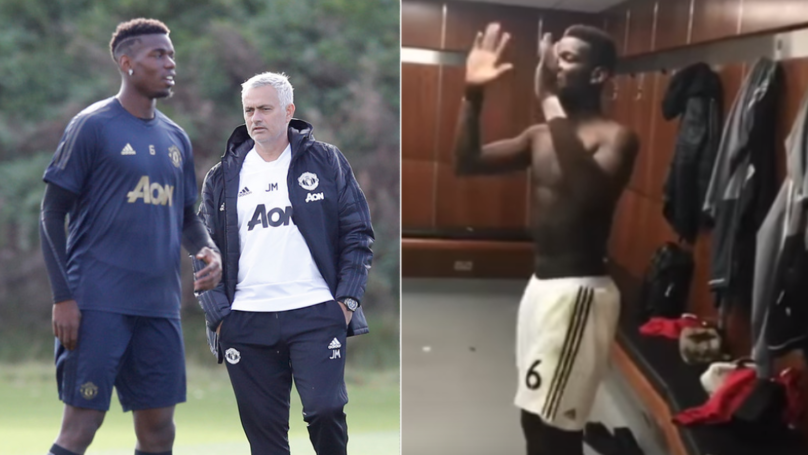 Paul Pogba 'High-Fived' Teammates And 'Led Dressing Room Celebrations' After Jose Mourinho Was Sacked