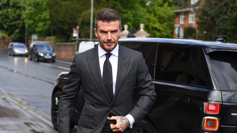 David Beckham Banned From Driving For Six Months