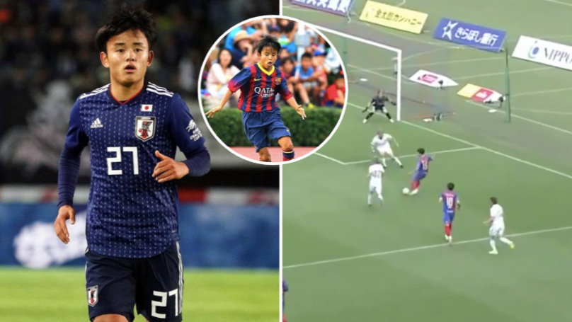 Real Madrid Confirm Signing Of 'Japanese Messi' Takefusa Kubo