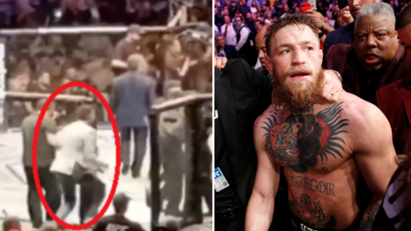 Conor McGregor Fan Receives Lifetime Ban For Storming Octagon At UFC 229