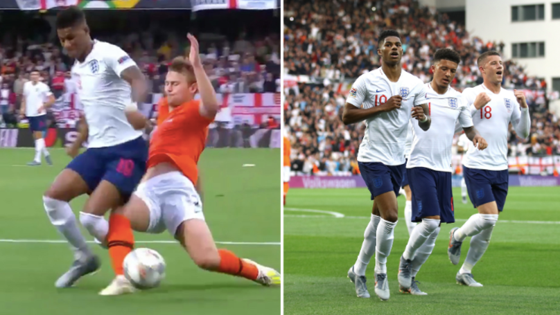 Matthijs De Ligt Makes Major Error To Gift England The Opening Goal