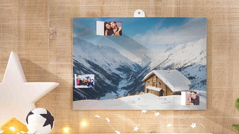 You Can Get Advent Calendars With Photos Of Your Best Friend's Face Behind Each Door