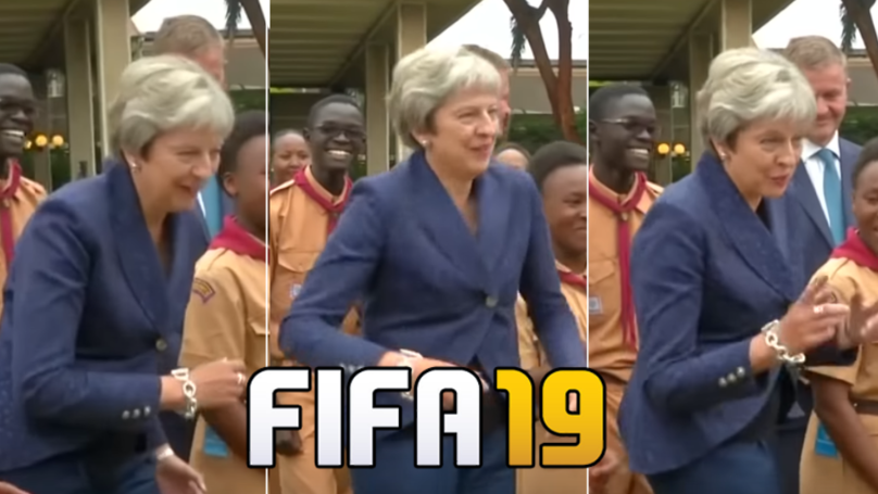 Fans Want Theresa May's 'Stiff Shuffle' Dance To Be In FIFA 19