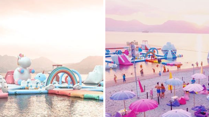 ​A Giant Floating Unicorn Playground Exists And It Looks Magical