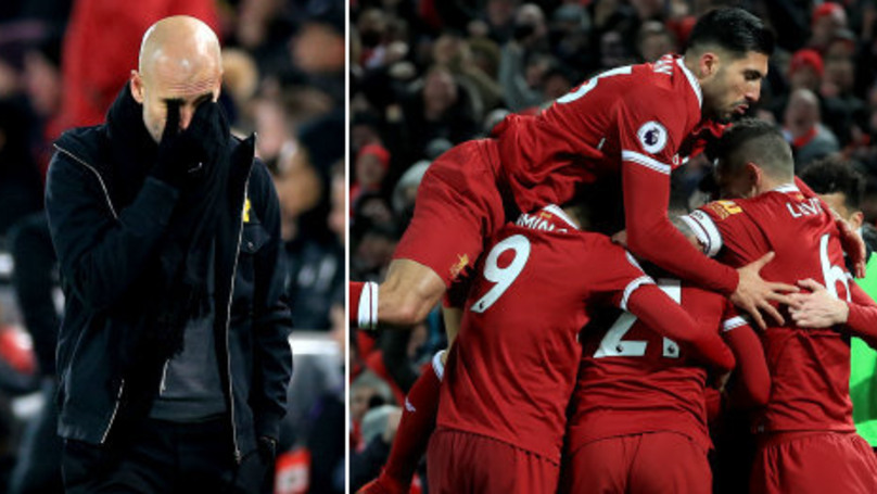 Manchester City Lose Their First League Game Of The Season To Liverpool