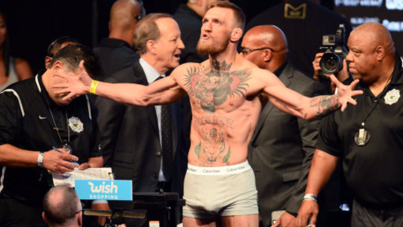 Conor McGregor Forgot To Take His Jockstrap To Mayweather Fight