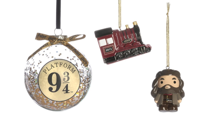 Primark Has Released A Load Of £4 Harry Potter Themed Christmas Baubles