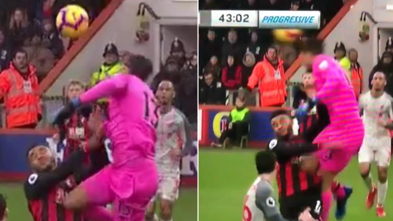 Liverpool's Alisson Ruins His Perfect Hair With Colossal Header
