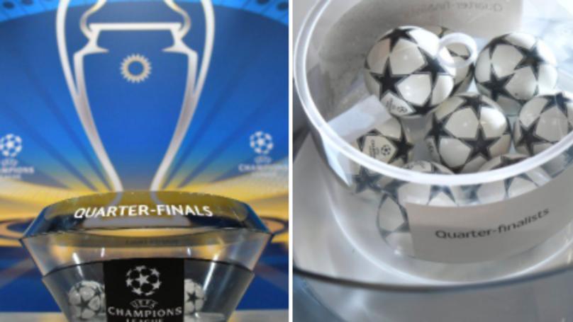 UEFA Champions League Quarter-Final Draw Announced