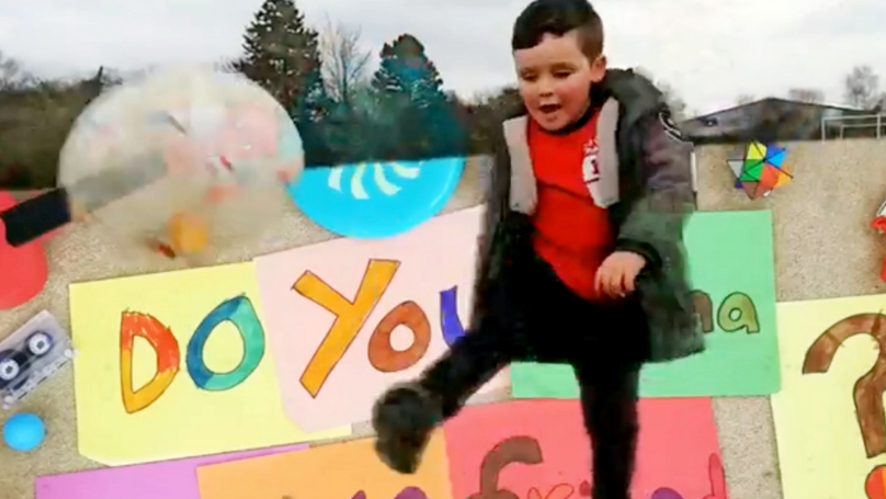 Adorable Little Boy Goes Viral After With Song About Making Friends