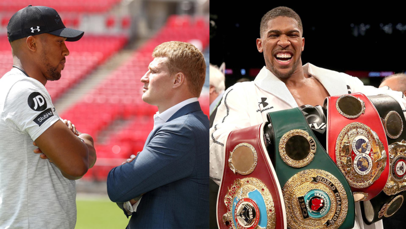 Anthony Joshua Tipped To Retire With A Perfect Record