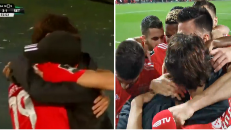 The Touching Moment Joao Felix Celebrates Goal By Embracing 15-Year Old Brother