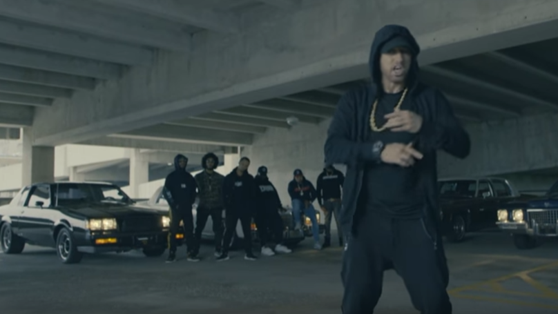Eminem Drops Huge Freestyle About Donald Trump At BET Awards