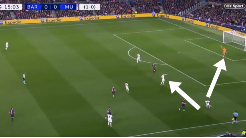 Ashley Young Made Four Key Errors In Build-Up To Lionel Messi's Opening Goal